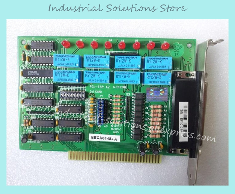 PCL-725 Relay Output And Isolated Digital Input Card 100% tested perfect qualityPCL-725 Relay Output And Isolated Digital Input Card 100% tested perfect quality