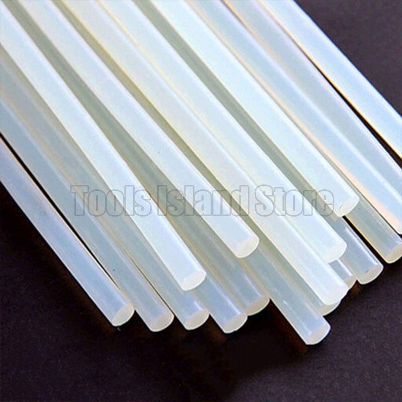 10pcs/lot 7mm X 190mm Hot Melt Glue Stick For Heat Pistol Glue High Viscosity Glue Glue Repair Tool Kit