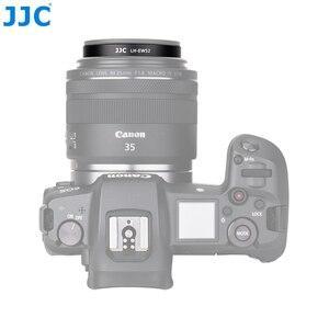 Image 3 - JJC LH EW52 Paraluce per obiettivi fotografici Per Canon RF 35 millimetri f/1.8 Macro IS STM Lens Sostituisce Canon EW 52 Fotocamere Accessori