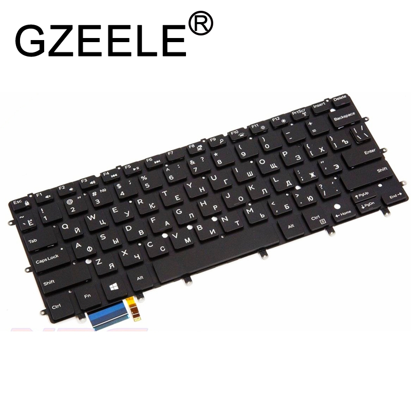 GZEELE Russian RU laptop keyboard for Dell XPS 13 9343 13 9350 9360 15BR N7547 N7548 7547 7548 17-3000 with Backlit backlight RUGZEELE Russian RU laptop keyboard for Dell XPS 13 9343 13 9350 9360 15BR N7547 N7548 7547 7548 17-3000 with Backlit backlight RU