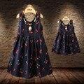 Новорожденных Девочек Платья Летние Соответствия Мать Дочь Платье Плюс Размер Хлопок малышей Семья Одежда Vestidos