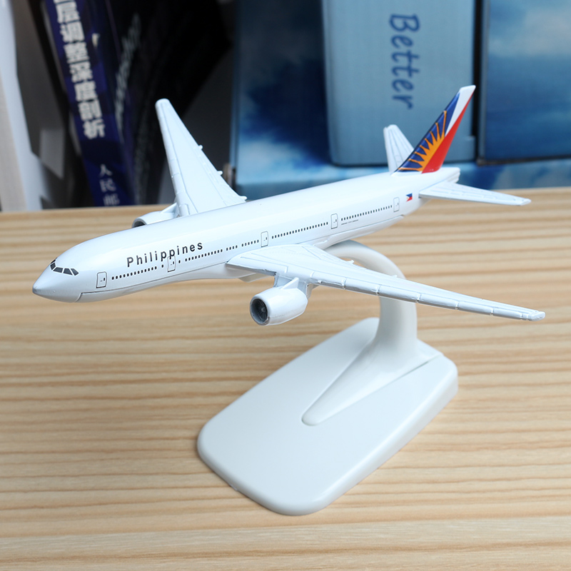 16cm United Arab Emirates Airlines Airplane Model Boeing 777 Malaysia Brazil TAM Israel Kenya Philippines Jet Airway Model 1:400