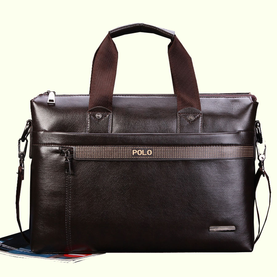 POLO 2018 Men messenger bags fashion leather bag men briefcase designer handbags high quality famous brand business men bag все цены