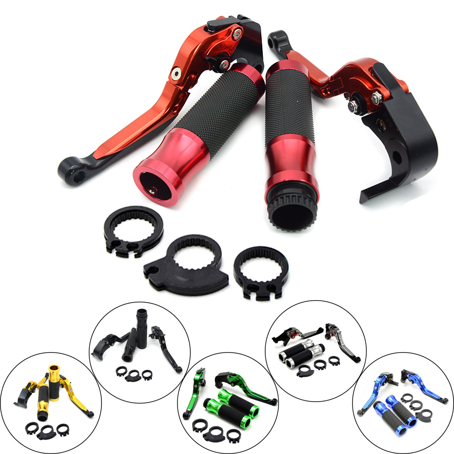 Motorcycle Brakes Clutch Levers Adjustable Folding Extendable & handlebar handle bar For KAWASAKI GTR1400 CONCOURS 2007 - 2016 for kawasaki z750 2007 2017 motorcycle brakes clutch levers