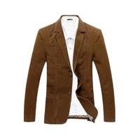 Spring Autumn 2018 Men's Casual Suit Blazer Slim Fit Men's Suit Jacket Casual Business Plus Size 6XL Men Cotton Coat Outerwear