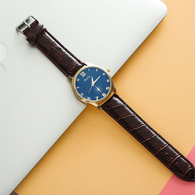 Brand Luxury Quartz Watch Men Famous Imitation Pin Buckle Watch Creative Circular Pin Buckle Watch Fashion Casual Wrist Watch канцелярские кнопки drawing pin creative office 136