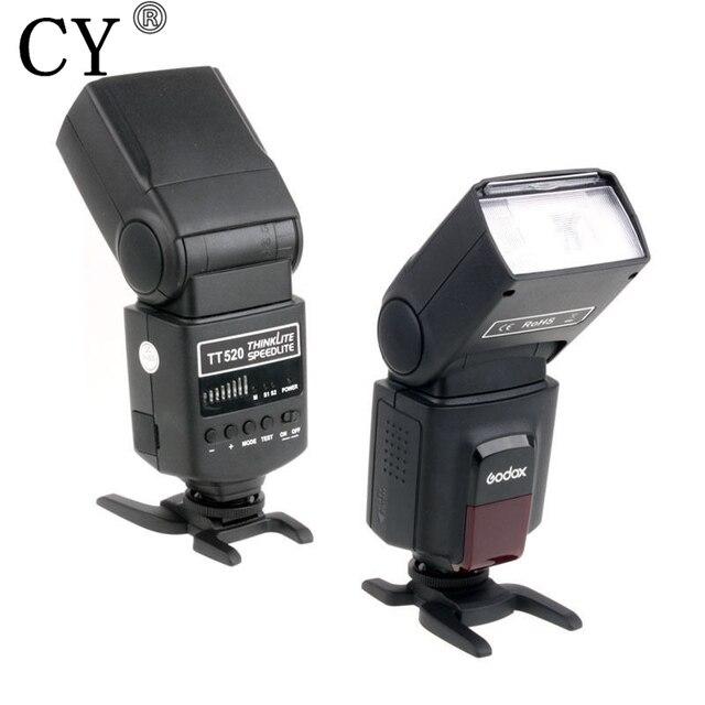 New Inno Godox TT520 Thinklite Camera Flash with Build-in 433MHz Wireless Signal for Canon Nikon Pentax Olympus DSLR Cameras