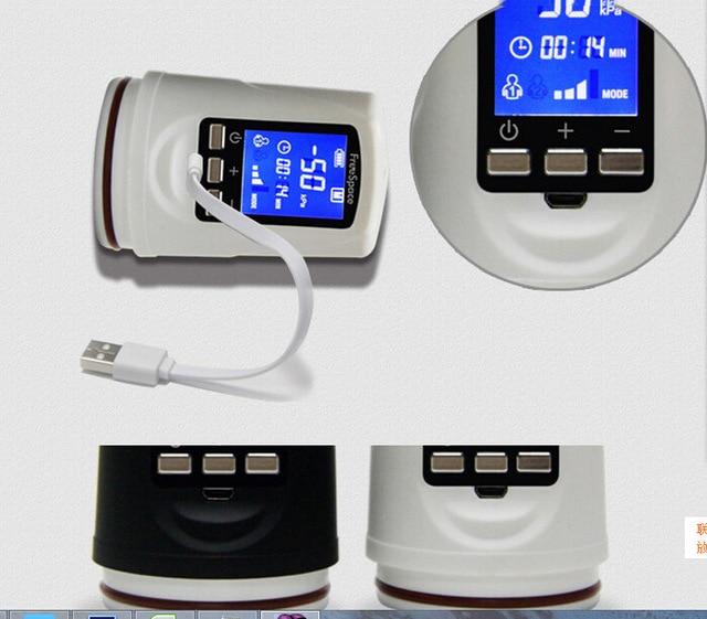 Bomba Bomba Bomba de pene LED potente USB recargable automática pene Enlarger bomba de vacío mejora masculina, extensor profesional alargador de pene 5caa41