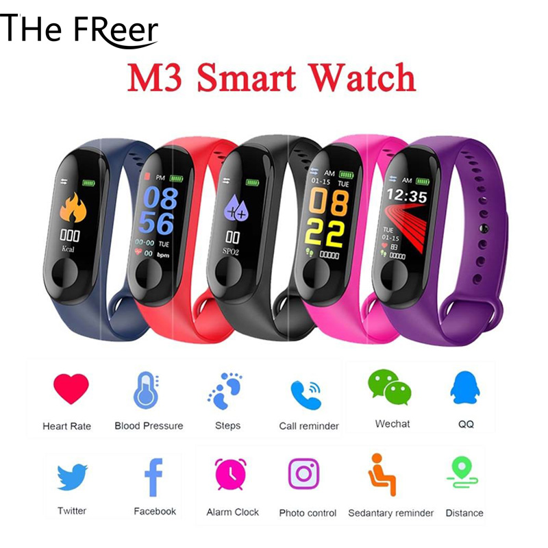 Sport Bracelet Smart Watch child Kid Watches For Girls Boys Electronic LED Digital Wristwatch Wrist Fitness Women Men Bracelet steel casing pipe