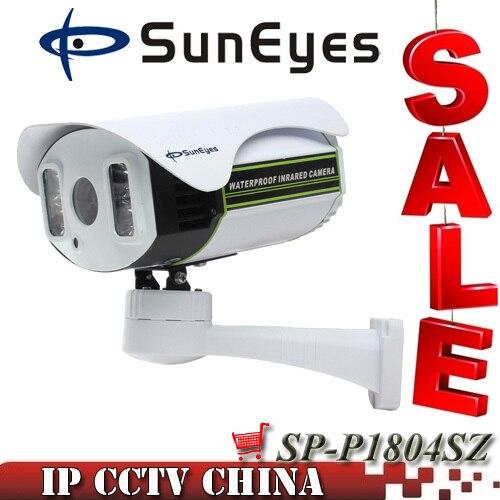 SunEyes SP P1804SZ 1080P IP Camera Outdoor PTZ 2 0MP with TF Micro SD Slot Pan