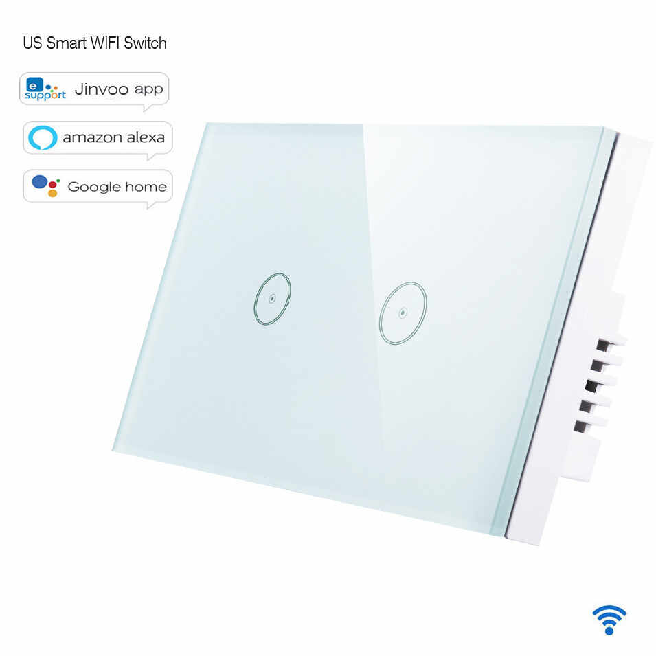 Jinvoo smart switch WiFi light switch EU standard Alexa