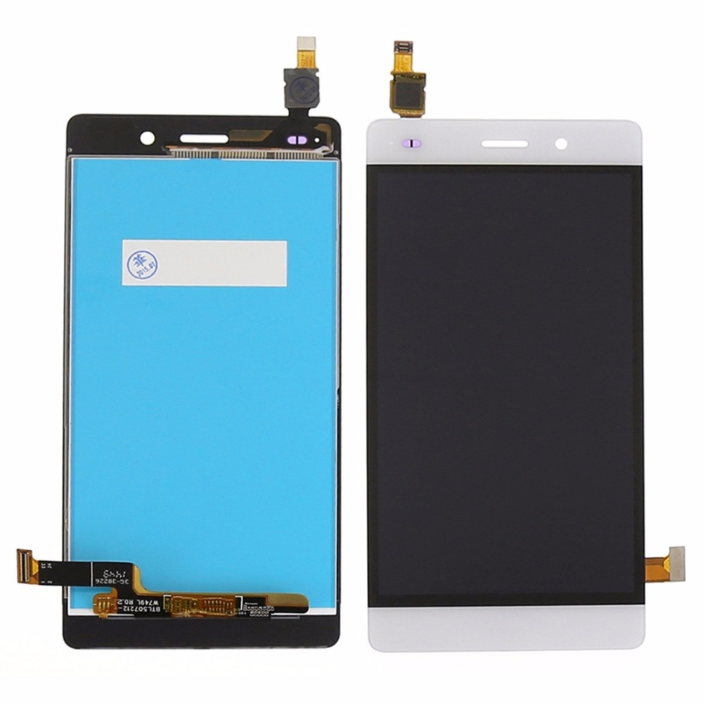 For Huawei Ascend P8 Lite VA666 T18 0.45 ALE-L04 L21 TL00 L23 CL00 L02 UL00 LCD Display + Digitizer Touch Screen Assembly