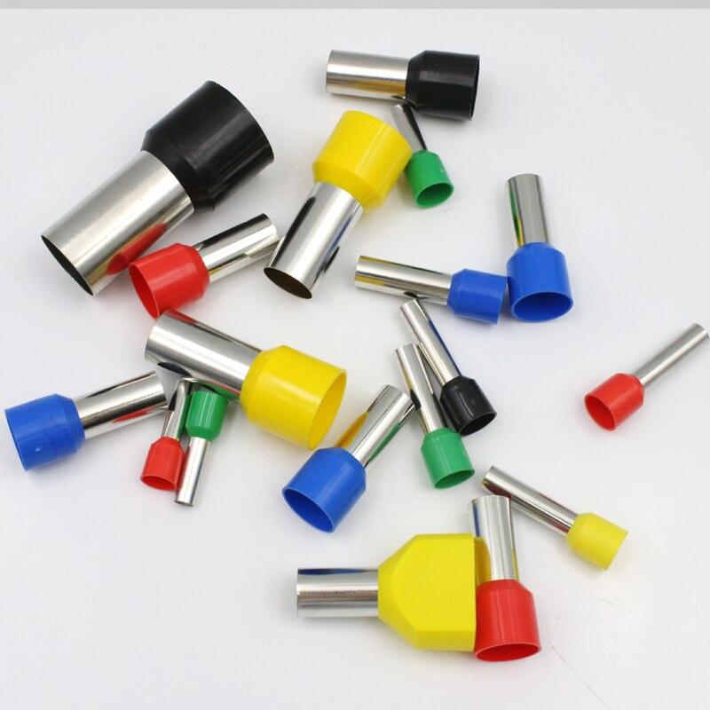 VE16-12, европейские клеммные контакты, трубчатые клеммы, блоки, E16-12, провода, клеммы, разъем 5AWG 16mm2
