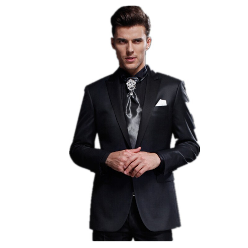 Online Shop High-end custom men business suits groom's best man