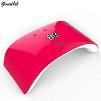 Sun9P 36W UV LED Nail Lamp 18pcs LEDs Nail Dryer For All Gels Timer Button LEDs