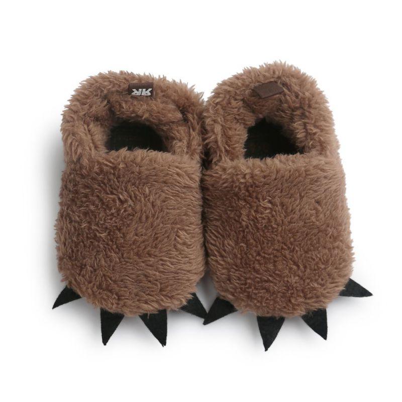 28e65f467 الشتاء الدافئ دفعة طفلة الصبي سرير لينة سوليد الأحذية الصغار الأحذية حذاء  الثلوج