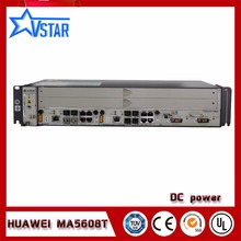 Original HUAWEI MA5608T GEPON OLT DC GPON device with one GPFD C+