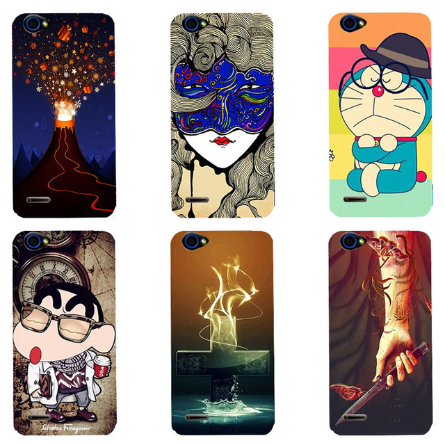 Case For ZTE Blade L4 T610 A460 Cover Fashion HD UV Printing Cartoon Back Shell Soft Silicone Skin Phone Coque New Hot