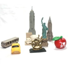 pvc figure New York City building series Decoration Toys ornaments