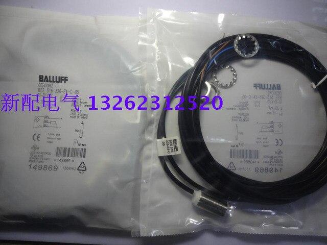 Balluff Proximity Switch Sensor BES 516-326-E4-C-05  New High Quality  One Year Warranty 1