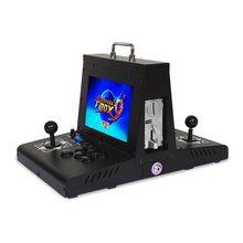 Game machine home arcade back to desktop double mini fighting