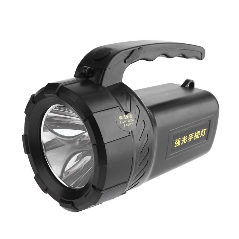 5W 320LM 500m Rechargeable Flashlight Led Spotlight Outdoor Indoor Searching Lamp Torch Emergency Light Hunting Caving Fishing