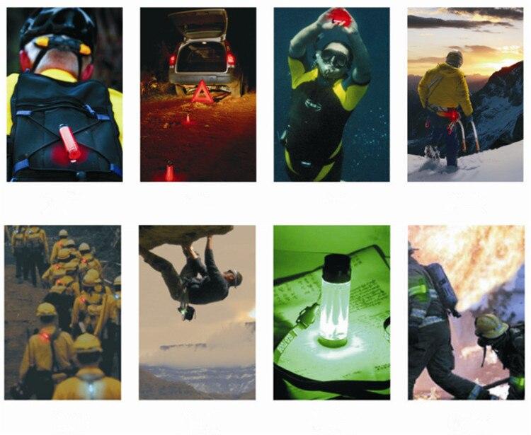 Купить с кэшбэком 60M Led Underwater Warning Signal Scuba Diving External Novelty Light Signal Warning Novedad Flashlight Lamp Christmas Gift