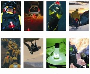 Image 5 - 60M Led Underwater Warning Signal Scuba Diving Novelty Light Signal Warning Flashlight Lamp Christmas Gift (without battery)