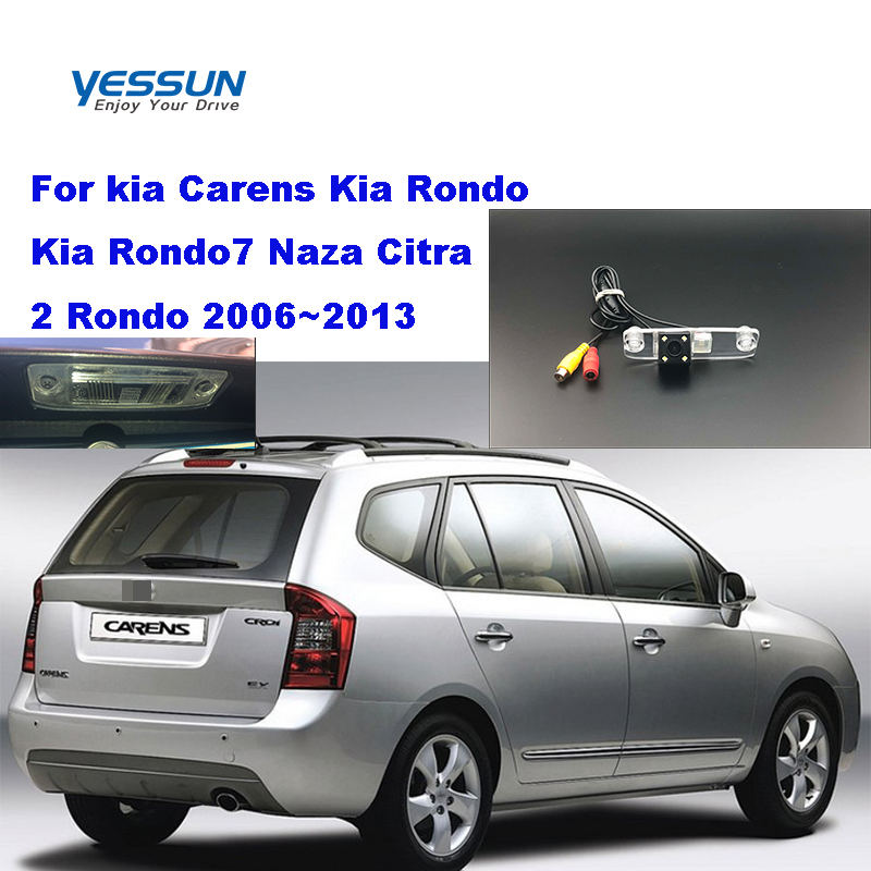 Yessun License palte camera For kia Carens Kia Rondo Kia Rondo7 Naza Citra 2 Rondo 2006~2013  View camera Parking Assistance(China)