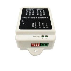 Image 2 - Frete grátis RS485 comunicação controlador de relé módulo PLC automação monitoramento interruptor inteligente
