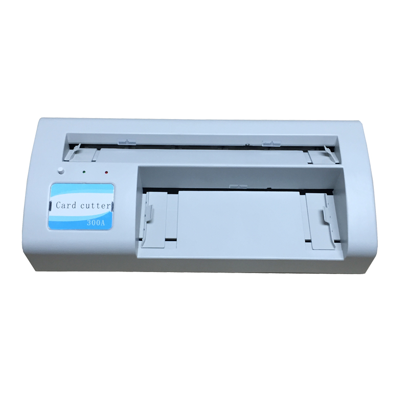 Business name card cutter machine Business cutting machine automatic electronic driven cut card cutter to cut pvc id business card punching machine with high speed