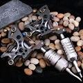2 UNIDS Brújula Tatuaje Máquina Liner Shader WQ2062 Fuego Plata + WQ2062-1