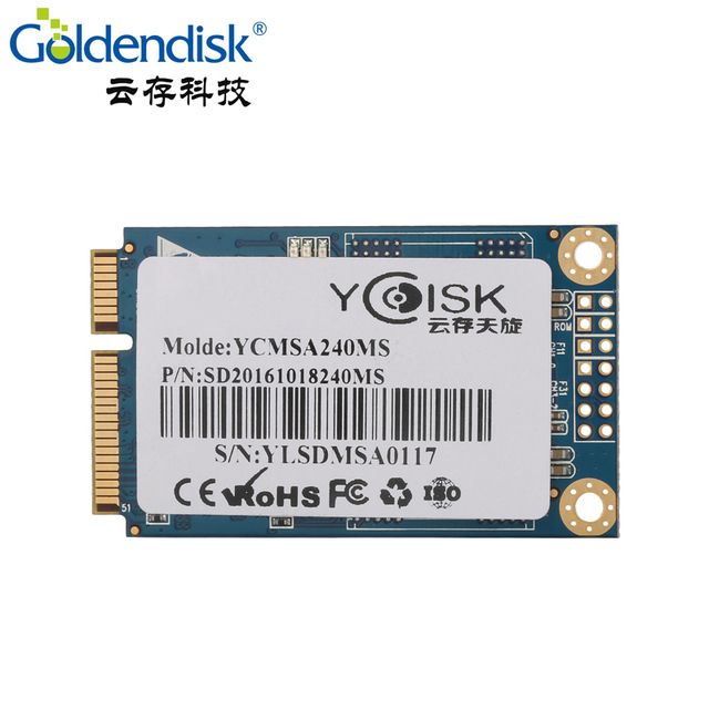 Goldendisk YCdisk Serial 240GB 256GB mSATA SSD with cache For Intel Samsung Gigabyte Thinkpad Lenovo Acer HP Laptop Mini PC