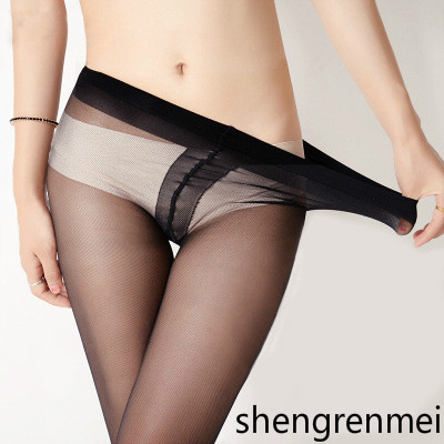 Shengrenmei 2019 Sexy Medias Stockings Summer Thin High Elastic Tights Women Lingerie Nylon Long Thigh Pantyhose 1