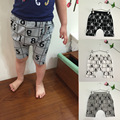 Bk-416, Figura xadrez, Verão crianças meninos shorts, 5 calças, Modal de algodão, 3-8a