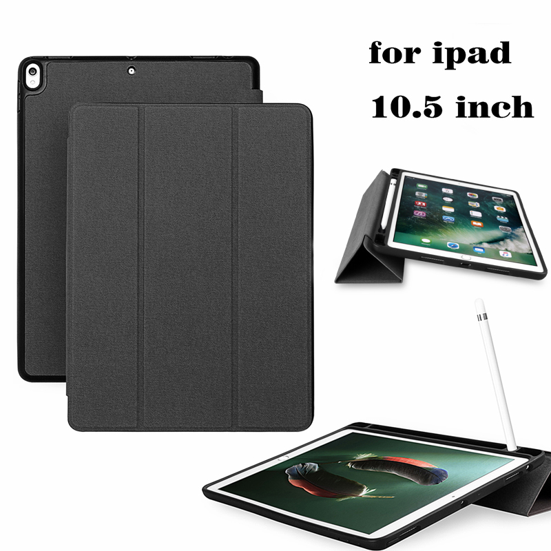 For Ipad Pro 10 5 Case Pu Leather Slim Smart Cover With