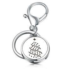 Брелок для ключей в виде рождественской елки 36 л