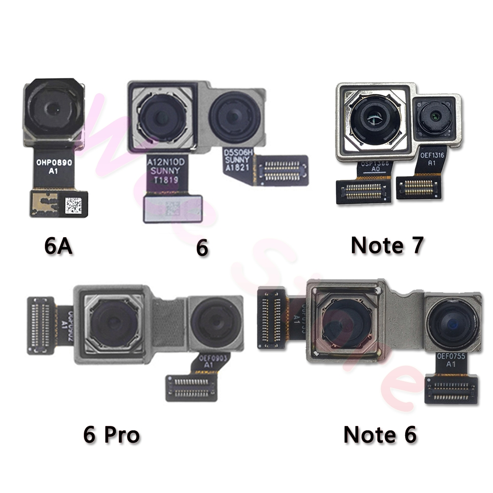 Original Main Back Camera For Xiaomi Mi Redmi Note 6 6A 7 Pro Back Rear Camera Flex Cable