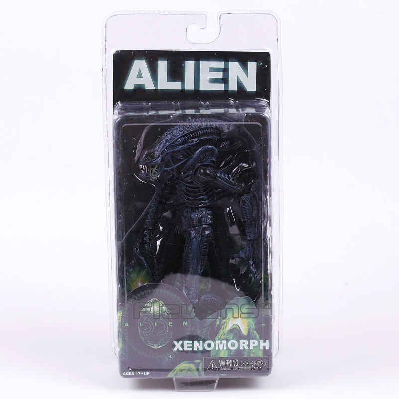 NECA ALIEN Xenomorph PVC Action Figure Collectible Model Toy 19cm neca rocky iii rocky balboa clubber lang 40th anniversary pvc action figure collectible model toy 7 18cm