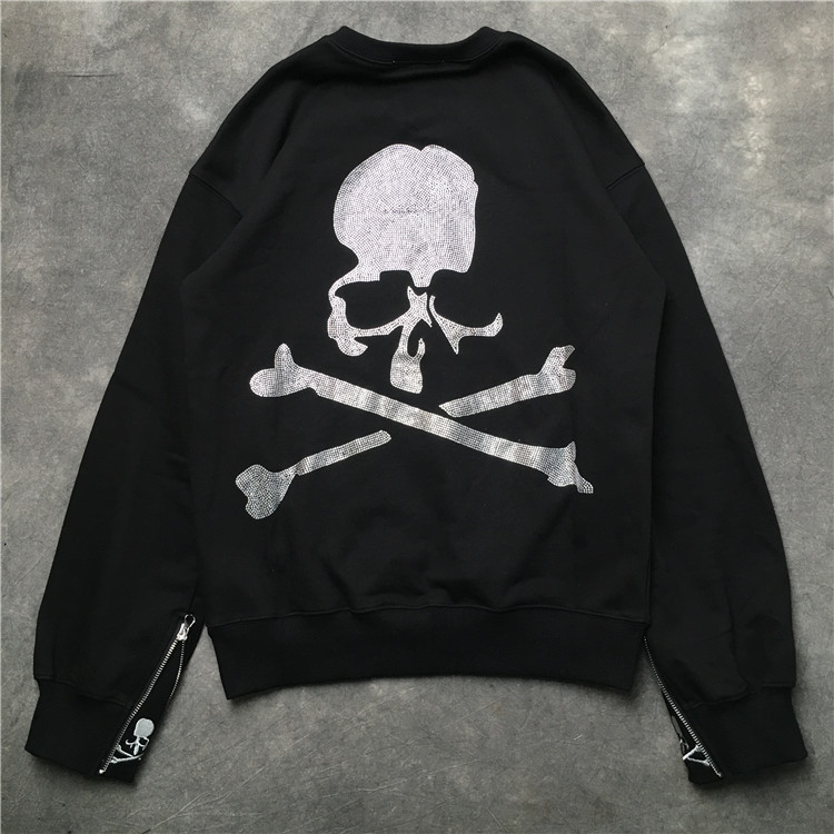 fashion style various colors the latest US $37.79 10% OFF 2019 TOP Best Quality Mastermind Japan MMJ Cuff zipper  Skull Printing Women Men Unisex Pullover Hoodies Hip hop Men Sweatshirts-in  ...