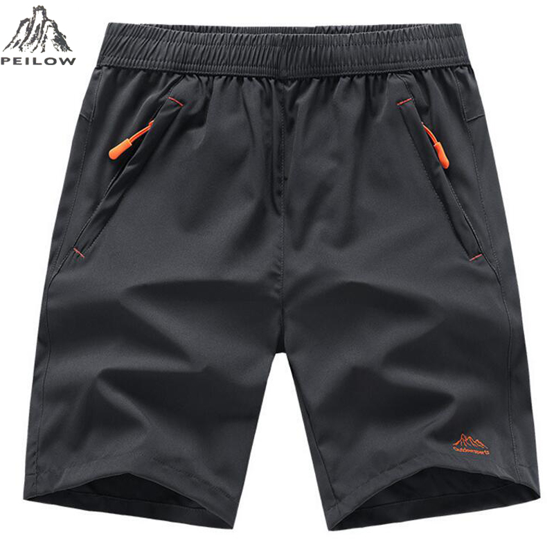 PEILOW Summer Men Beach Shorts Brand Quick Drying Short Pants Casual Clothing Shorts Homme Outwear Shorts Men Size L~7XL 8XL 9XL