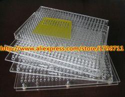 Best vendita capsula di riempimento bordo/400 fori manuale della capsula macchina di rifornimento/manuale della capsula di riempimento