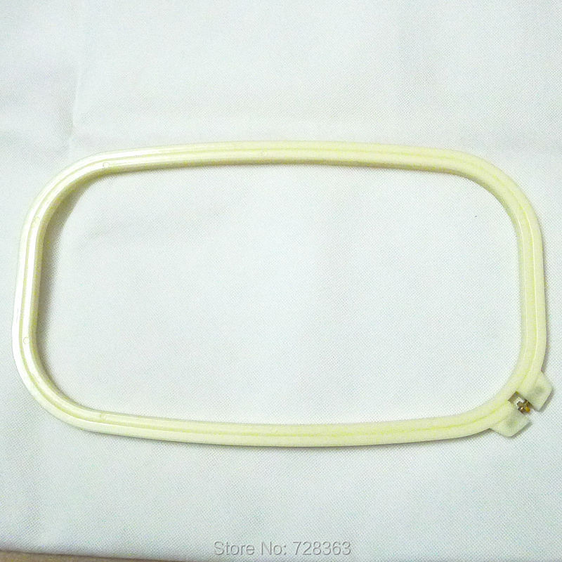 Bordado Marcos oblonga 18*33 cm ajustable rectángulo plástico ...