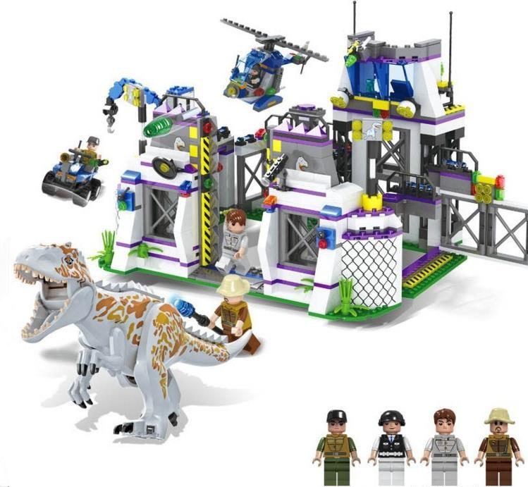 TS8000 jurassic world 2 film Violent Brutal dinosaure Indominus Rex Breako Jurassic dinosaure monde bloc de construction jouets