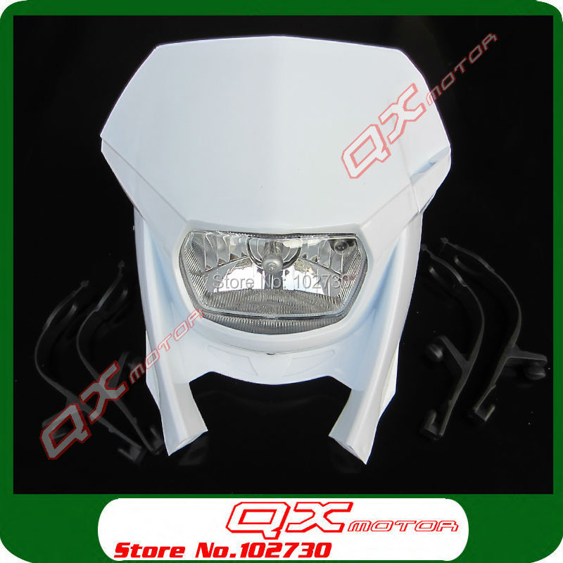 Brand New Street Fighter Bike Motorcycle Universal Dirt Bikes H4 Headlight  dirt bike parts Free Shipping