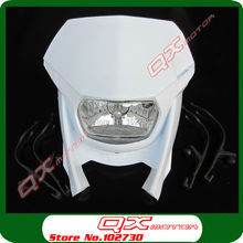 Brand New Street Fighter Bike Motorcycle Universal Dirt Bikes H4 Headlight  dirt bike parts Free Shipping