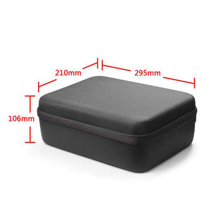 Image 4 - Travel Waterproof Carry Case Black bag for Sony Mini PS Playstation Classic Hosts & PS1 Controller storage bag case accessories
