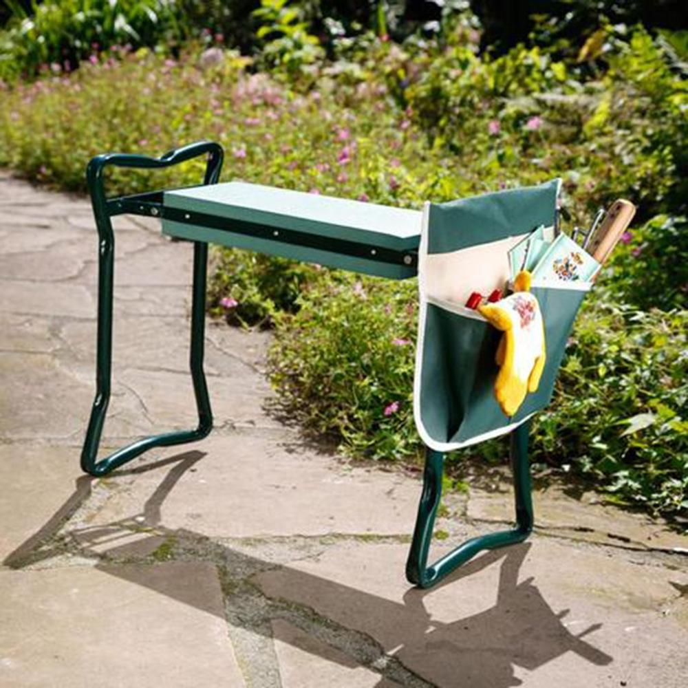 Awesome Us 34 44 5 Off Garden Kneeler With Handles Folding Stainless Steel Garden Stool With Eva Kneeling Pad Gardening Gifts Supply In Stools Ottomans Pdpeps Interior Chair Design Pdpepsorg