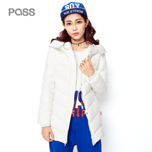 PASS 2017 New Arrival Women Winter Down Jacket Casual Solid Zipper Coat Female Large Size Slim Sleeve Patchwork Jackets