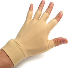 New! 1 Pair Washable High Elastic Nylon Arthritis Relief Anti Hand Compression Gloves